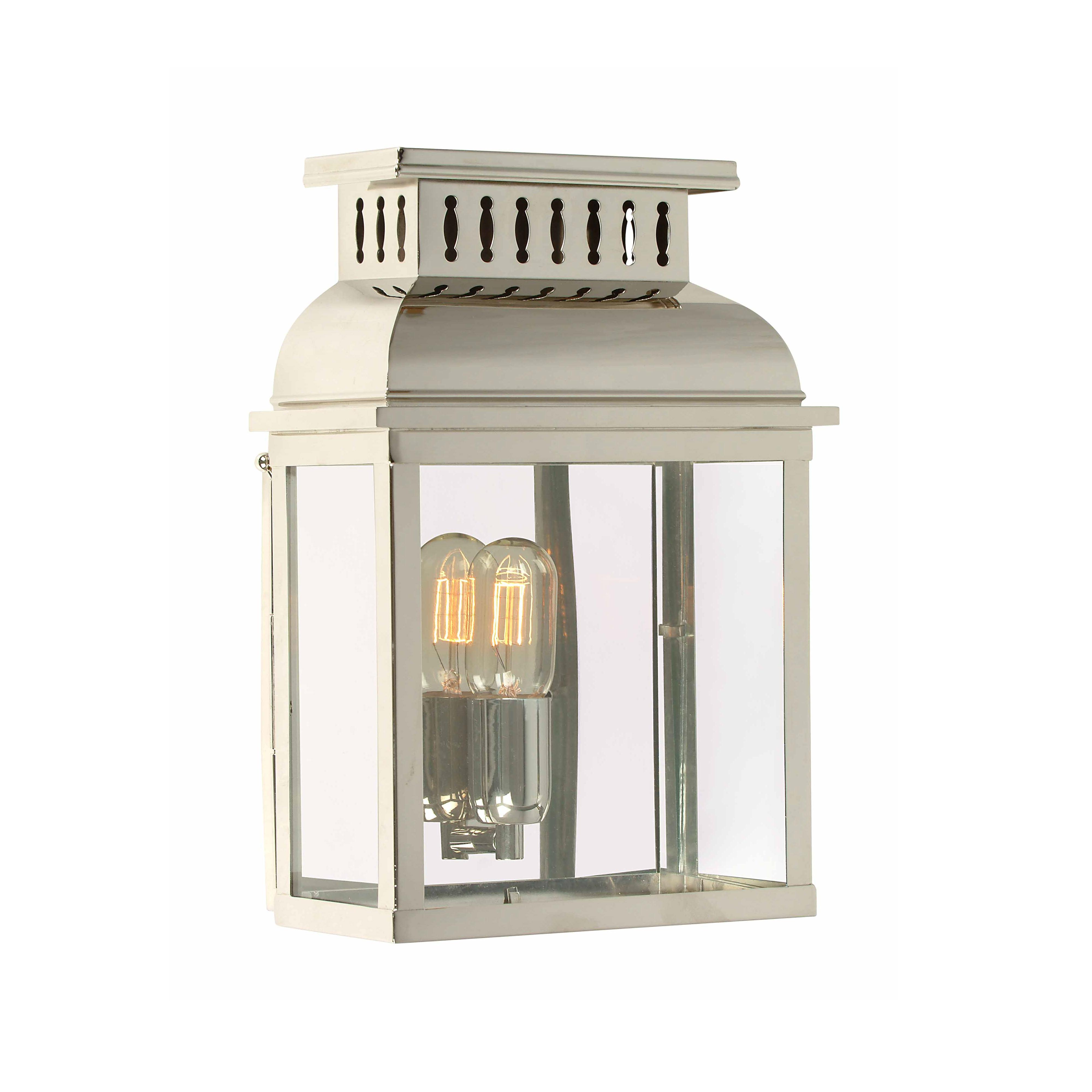 Westminster Wall Lantern Polished Nickel Light Innovation