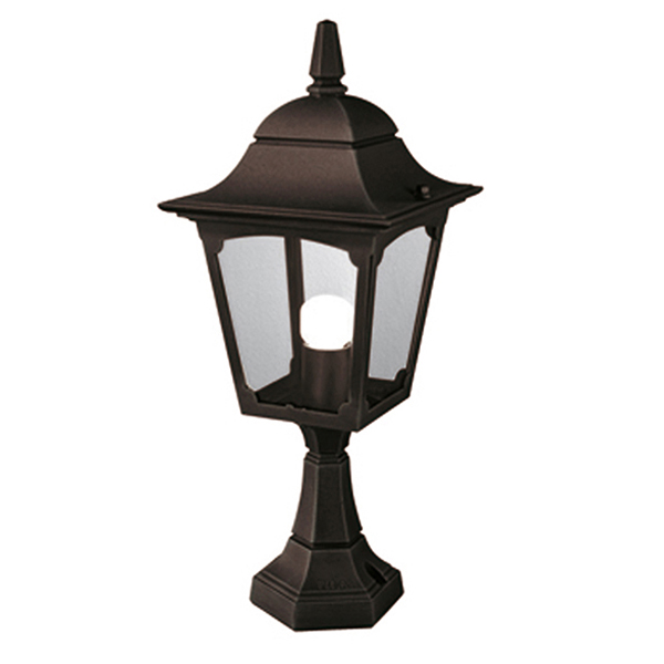 Churchill Pedestal Lantern Black Light Innovation