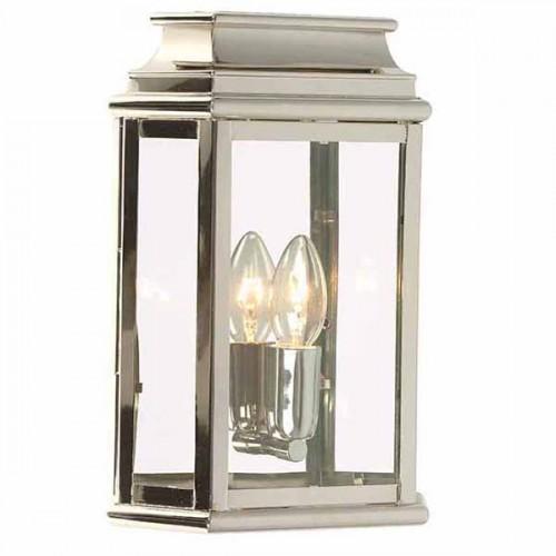 Monument Wall Lantern Polished Nickel Light Innovation