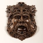 Bronze Green man
