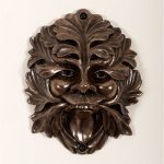 New bronze Green man