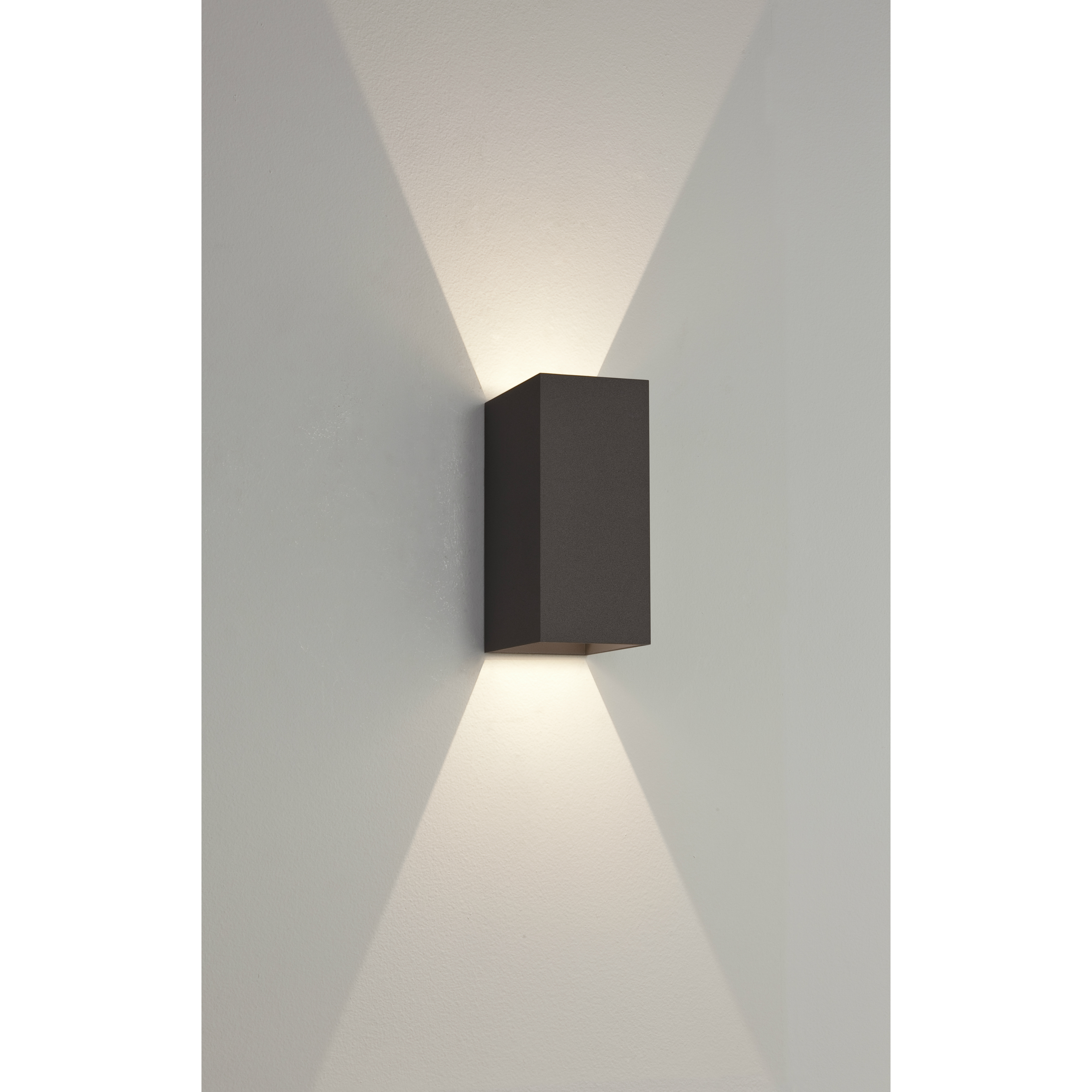 Half wall lanterns lights product categories light innovation oslo 160 black mozeypictures Choice Image
