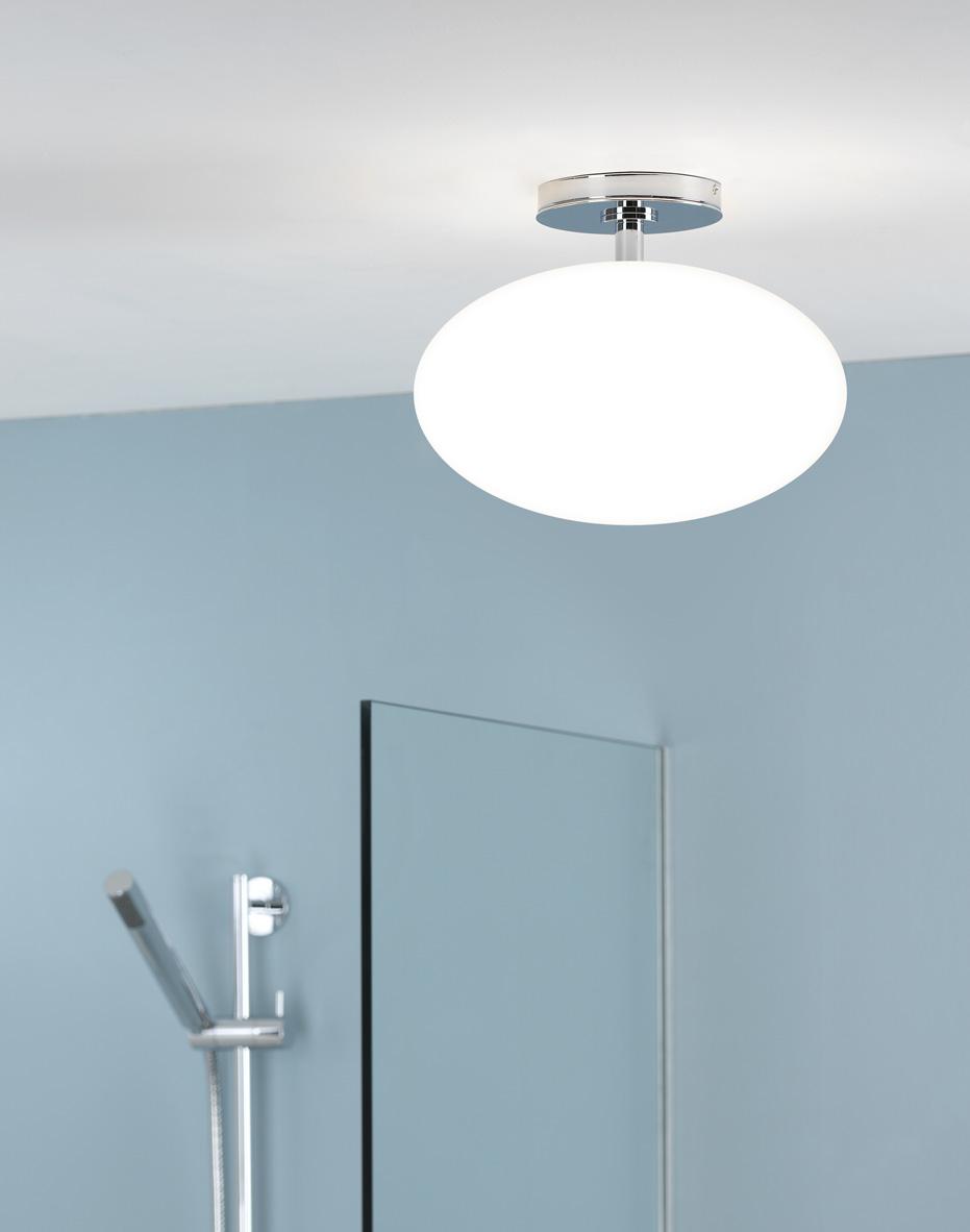 Zeppo semi flush light light innovation for Luminaire salle de bain castorama