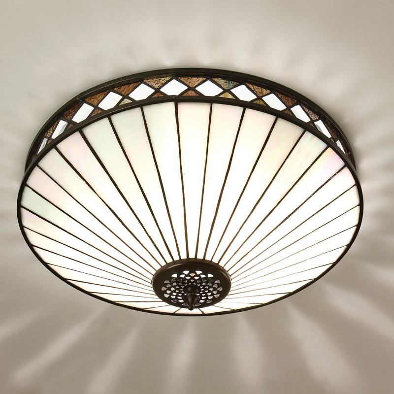 Fargo Flush Ceiling Light