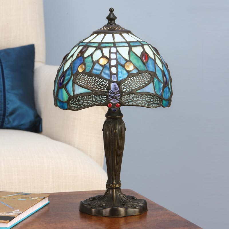 Blue Dragonfly Small Table Lamp Light Innovation