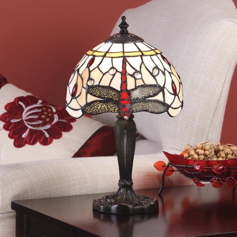 Beige Dragonfly Mini Table Lamp Light Innovation