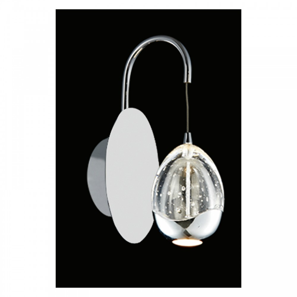 Funky Chrome Wall Lights : Roma 1lt Wall Light Chrome Light Innovation